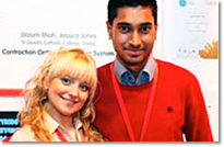 Wasim Miah and Jessia Jones