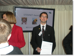 Rhys Phillips wins STEM Ambassador Award