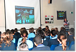 STEM Ambassadors support St Teilo's School Assemblies